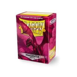 Dragon Shield Matte Standard Size Card Sleeves - Magenta (100)