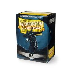 Dragon Shield Matte Standard Size Card Sleeves - Jet (100)