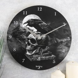Alchemy Poe's Raven Clock (battery not included)