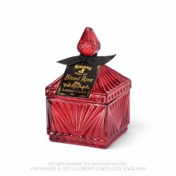 New Release! Alchemy Gothic SCJ8 Vintage Scented Candle Jar - Blood Rose (Square)