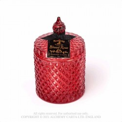 New Release! Alchemy Gothic SCJ6 Scented Boudoir Candle Jar - Blood Rose (Large)