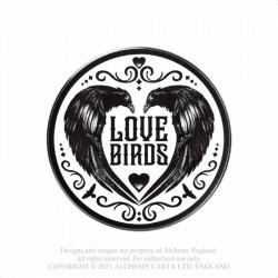 New Release! Alchemy Gothic CC19 Love Birds Individual Ceramic Coaster