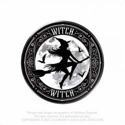 New Release! Alchemy Gothic CC24 Witch Individual Ceramic Coaster