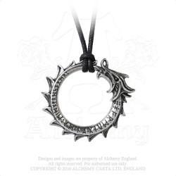 Alchemy Gothic P774 Jormungand necklace