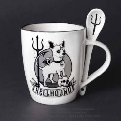 New Release! Alchemy Gothic ALMUG24 Hellhound: Mug and Spoon Set