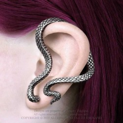 Alchemy Gothic E448 Serpentine Ear-wrap (left)