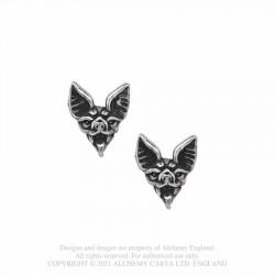 Alchemy Gothic E457 Cauchemar Studs (pair)