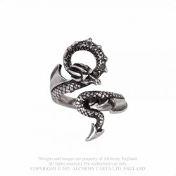 Alchemy Gothic AG-R245 Dragons Lure ring