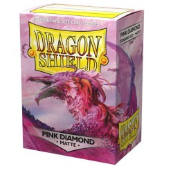 Dragon Shield Matte Standard Sleeves - Pink Diamond (100)