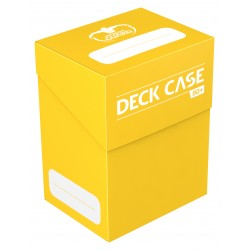 Ultimate Guard Deck Case 80+ Standard Size Yellow