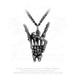 Alchemy Gothic P797 Maloik: Sign Of The Horns: Maschio