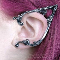 Alchemy Gothic E390L Arboreus Stud Ear-Wrap (left)