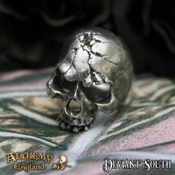 Alchemy Gothic AG-R174 Ruination Skull ring