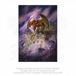 Last Chance! Alchemy Gothic ASPC220 Snagov 3D Lenticular Post Card