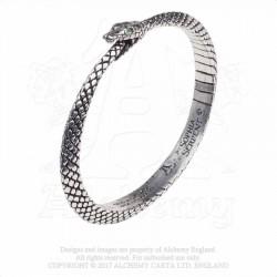 Alchemy Gothic A121 Sophia Serpent bangle