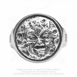Alchemy Gothic AG-R218 M'era Luna - Man In The Moon: Ring