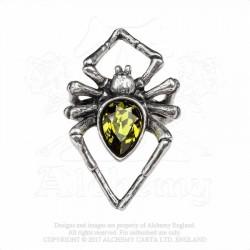 Alchemy Gothic AG-R222 Emerald Venom ring