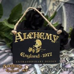 Alchemy Gothic AG-ALHS20 Alchemy England 1977 Mini Metal Sign