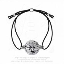 Alchemy Gothic AML1 M'era Luna: Man in the Moon Bracelet