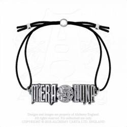 Alchemy Gothic AML4 M'era Luna: Moon Logo Bracelet