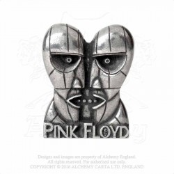 Alchemy Gothic PC502 Pink Floyd: Division Bell heads pin badge brooch