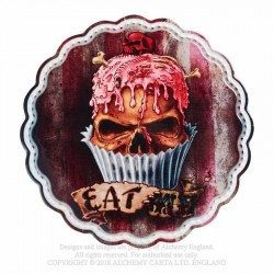 New Release! Alchemy Gothic CT7 Skull Cupcake