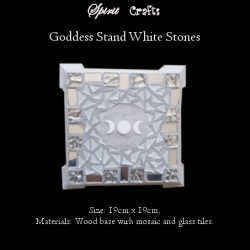 Stand Triple Goddess White