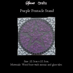 Stand Pentacle Purple