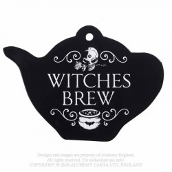 New Release! Alchemy Gothic CT8 Witches Brew trivet