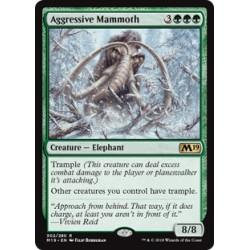 MTG Single - Core Set 2019 - Aggressive Mammoth