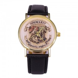 [On Demand] Harry Potter Wristwatch Gold Face