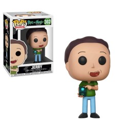 Funko Pop! Animation - Rick and Morty - Jerry vinyl figure