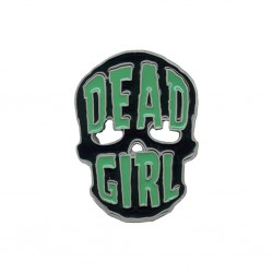 Kreepsville Dead Girl Skull Buckle (belt not included)