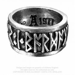 Alchemy Gothic AG-R173 Runeband ring