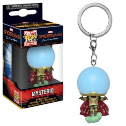 Funko Pocket Pop! Keychain: Spider-Man Far From Home - Mysterio Bobble-head