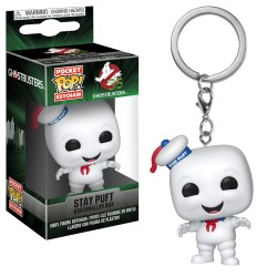 Funko Pocket Pop! Keychain: Ghostbusters - Stay Puft Marshmallow Man vinyl figure