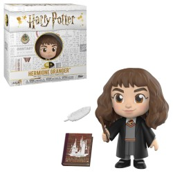 Funko 5 Star Harry Potter: Hermione Granger with Hogwarts History Book & Feather vinyl figure