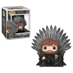 Funko Pop! Game of Thrones S10: Tyrion Throne vinyl figure