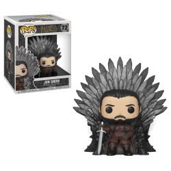 Funko Pop! Game of Thrones S10: Jon Snow Throne vinyl figure