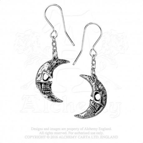 Alchemy Gothic P783 M'era Luna Crescens - Tragicom Moon (pair)