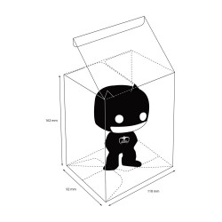 Protective Case for Funko POP! Figures Standard Size (1 unit)