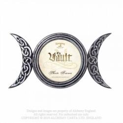 Alchemy Gothic V86 Triple Moon Photo Frame