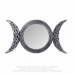 Alchemy Gothic V87 Triple Moon Mirror