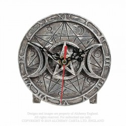 New Release! Alchemy Gothic V88 Wiccan Desk Clock