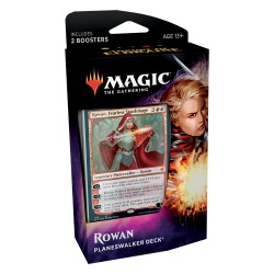 Magic: The Gathering Throne of Eldraine Planeswalker Deck - Rowan, Fearless Sparkmage