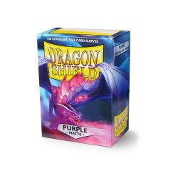 Dragon Shield Matte Standard Size Card Sleeves - Purple (100)