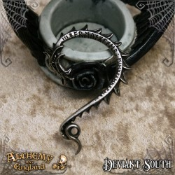 Alchemy Gothic E436 Jormungand ear-wrap (left)