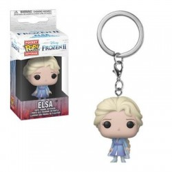 Funko Pocket Pop! Keychain: Frozen II - Elsa vinyl figure