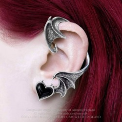 New Release! Alchemy Gothic E445 Blacksoul Ear-wrap (Left-ear)