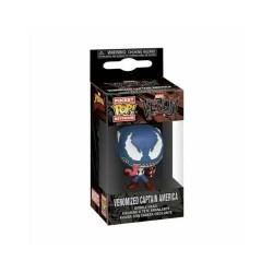Funko Pocket Pop! Keychain: Marvel Venom - Venomised Captain America vinyl figure